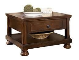 ashley furniture porter brown lift top cocktail table to enlarge