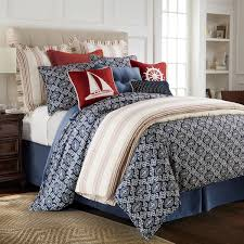 Delectably Yours Monterrey Blue Nautical Duvet Bed Set by HiEnd Accents