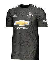 adidas Manchester United Trikot Away 2020/2021 Kids Grün | Fan-Shop