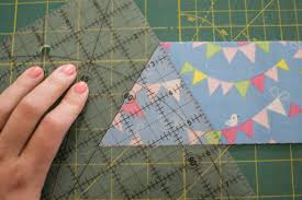 Quilting UnPlugged: Design Your Own Triangle Quilt! {tips & tricks ... & Tip #2 - how to cut equilateral triangles. Adamdwight.com