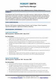 Sample Resume For Medical Office Manager Practice Manager Resume Samples Qwikresume