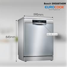 Máy rửa chén bát Bosch SMS88TI40M Seri 8 nhập khẩu