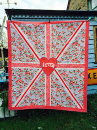 Union Jack Quilt Pattern — Dandelion Designs & Union Jack Quilt Pattern Adamdwight.com