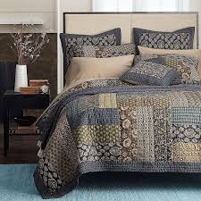 81 best Bed Linens images on Pinterest | Bedspreads, Blue green ... & $155 AmazonSmile: Newrara Boho Bedding Collection Bohemian Real Patchwork  Cotton Dark Elegance Floral Quilt/. Floral QuiltsBed CoversPillow ... Adamdwight.com