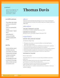7 Best Resume Format 2017 Students Resume