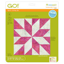 GO! LeMoyne Star-9  Finished |AccuQuilt| & GO! LeMoyne Star-9