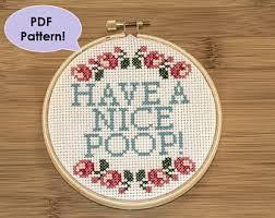 Funny Cross Stitch Patterns