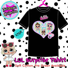 lol size lol surprise tshirt soft premium cotton pre order available size