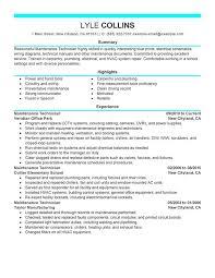hvac technician resume sample best resume gallery - Sterile Processing Technician  Resume Example