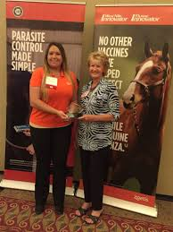 Amanda Dingley, Zoetis equine specialist, presents the 2017 Equine ...