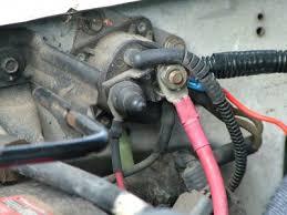 fender mounted starter solenoid wiring