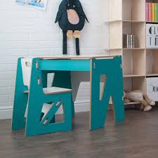 a kids studio couldn t have a better foundation that sprout s wooden modern kids desk