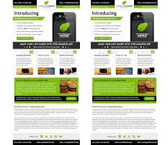 Free Download Newsletter Templates Great Newsletter Templates 33 Best Email Template Designs For