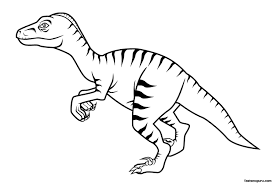 Small Picture Printable Dinosaur Coloring Pages Kids Gekimoe 1250