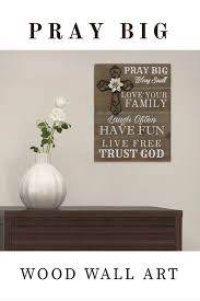 add inspiration to the wall with this wood pray big wall art decor inspirational quote on wooden wall art inspirational quotes with add inspiration to the wall with this wood pray big wall art decor