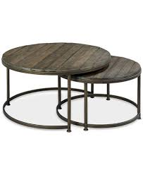 stacking coffee tables.  Tables Coffee Table Link Wood Set Of Round Nesting Tables  Wayfair Throughout Stacking M