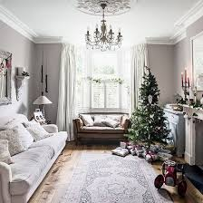 christmas living room decorating ideas. Traditional White Festive Living Room Christmas Ideas 2013 PHOTO GALLERY 25 Beautiful Homes Hous. Decorating