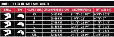 Bell Moto 8 Size Chart Bell Moto 9 Carbon Flexblock Helmet 7060807