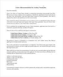 Letter Of Recommendation For Appointment To Board 7 Sample Military Recommendation Letter Samples Templates
