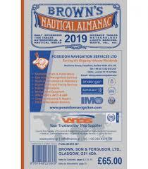 Mass Tide Chart 2015 Browns Nautical Almanac 2019