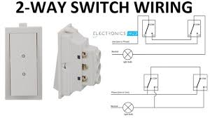 2 Way Light Bulb How A 2 Way Switch Wiring Works Two Wire And Three Wire