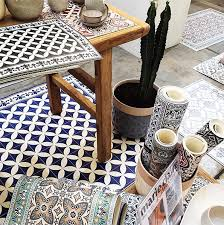 founded by israeli designer maya kunyevsky her collection of tile floor mats celebrate the artistic beauty of the traditional encaustic tiles from cultures