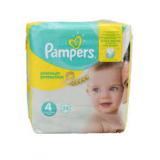 Pampers Premium Protection Nappies Size 4 Maxi 24 Stück