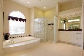 master bath with jazucci tub glass block walk in shower coldwell jpg 535x356 tub glass doorless