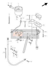 suzuki dr650se 1996 spare parts msp speedometer