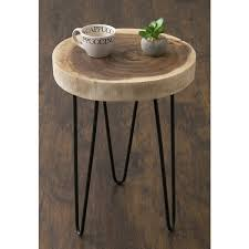 accent tables for desire pine canopy nantahala brown teakwood round table on 4 decoration