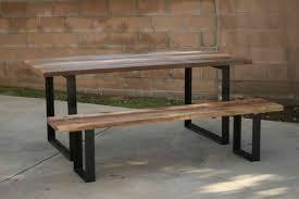 outdoor metal table. Flat Steel Metal Table Legs 81cm / 30inch (2 Pack) Outdoor