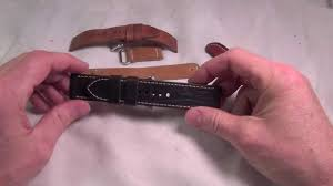 How to: Break in your <b>watch strap</b>. - YouTube