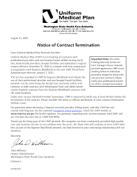Service Contract Termination Letter Website Inspiration Sample