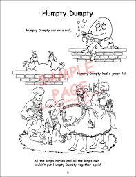 fairy tales nursery rhymes power panel coloring book