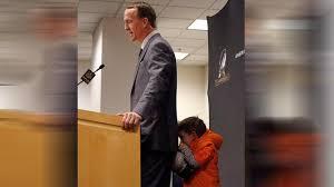 peyton manning kids. Peyton Manning\u0027s Son Steals Show At Dad\u0027s Postgame Press Conference Manning Kids