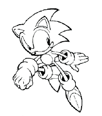 Sonic Boom Coloring Pages Sonic Color Page Super Sonic Coloring