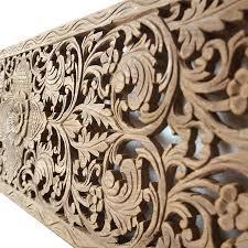 carved wood wall decor target wooden hanging carving decoration frame