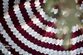 Christmas Tree Skirt Crochet Pattern Cool Diamond Christmas Tree Skirt Crochet Pattern
