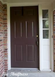 brown front doorFurniture Killer Picture Of Small Front Porch Design And