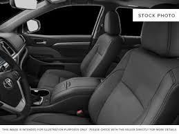 2018 toyota highlander interior. exellent interior blackmidnight black metallic 2018 toyota highlander left front interior  photo in brampton on intended toyota highlander interior