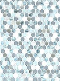 gray hexagon tile blue glass marble mosaic and hex floors floor tiles bathroom hex tile