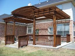 pergola arbors swimming pool iron work dallas