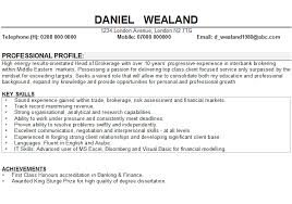 Hobby Interest Resume
