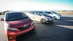 Toyota Sienna R-Tuned and S-Tuned Concepts review, specs and photos