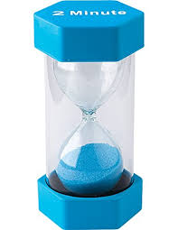 Minute Timers Amazon Com Teacher Created Resources 2 Minute Sand Timer Large