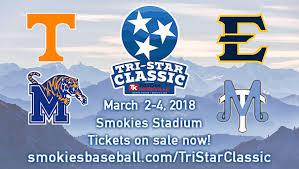 Etsubucs Com Tennessee Smokies Announce Tri Star Classic