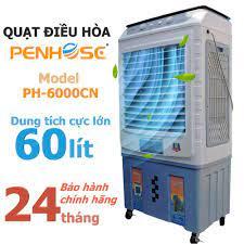 Quạt điều hòa hơi nước Penhose PH-6000CN Thái Lan siêu mát 100% Tặng 2 viên  đá khô Tiết kiệm điện