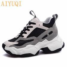 <b>AIYUQI</b> 2019 New <b>Platform</b> Basket <b>Female</b> Sneakers <b>Women</b> ...
