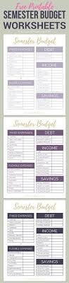 Student Budget Planner 179 Best Student Budget Images In 2019 Chef Recipes Healthy Food