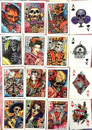 Face Card Design Bicycle Club Tattoo Playing Cards Album On Imgur